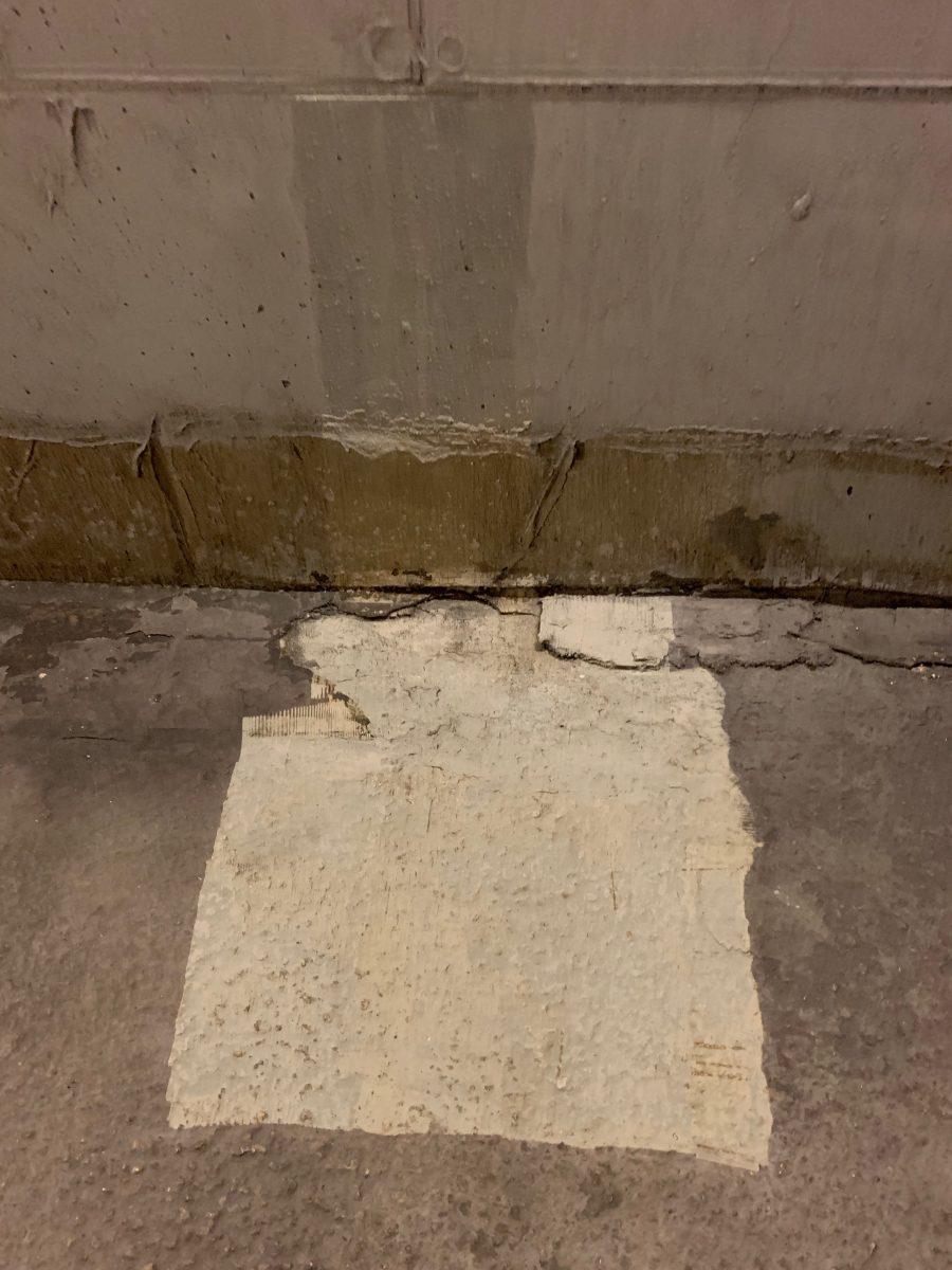 čištění laserem podlah, betonové podlahy
