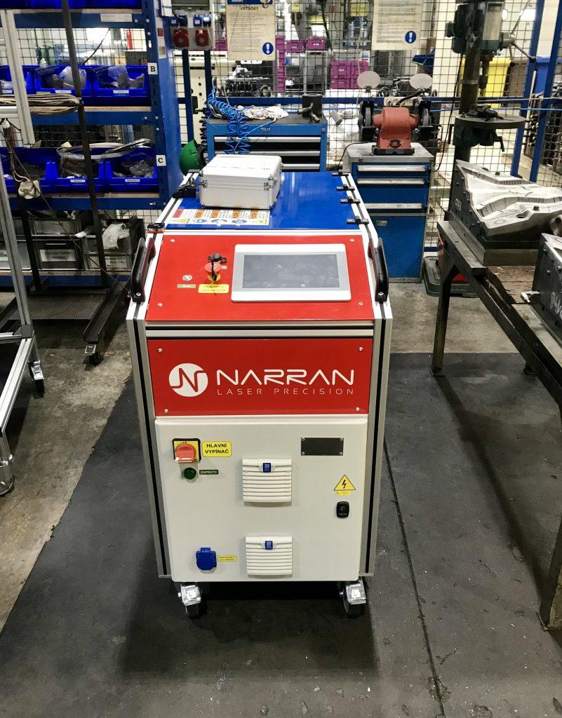 laser cleaning, čištění gumy, čištění pryže, odstraňování oxidů